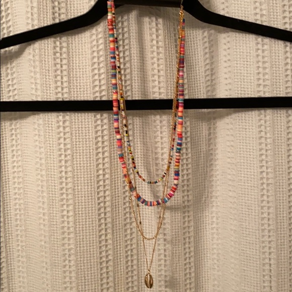 NWT Colorful Torrid Multi-Layered Necklace